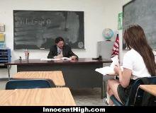 Jovem dando a bucetinhas novinhas para seu professor