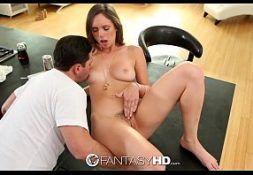 Mulher sensual no xporno dando cedo