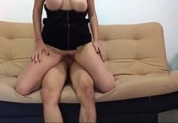 Vedeo de sexo safada dos peitos macios na transa